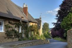 Rose covered cottage, England